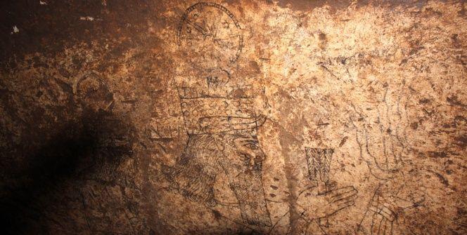 Şanlıurfa Başbük Tapınağındaki Tanrı ve Tanrıça Resimleri