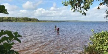 8 yaşındaki İsveçli kız çocuğu yüzdüğü gölde tarihi kılıç buldu