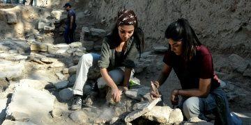 Arkeoloji dünyasının sempatik ikizleri aynı kazıda ter döküyor
