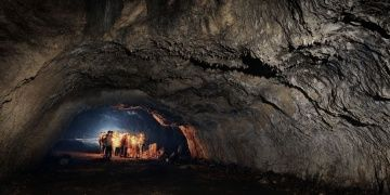 The Neanderthal bones found in a cave in southern Poland