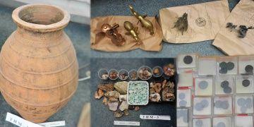 Makedonyada tarihi eser kaçakçılarına yönelik seri operasyonlar yapıldı