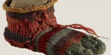 Scientists at the British Museum analyzed examples of Antique Egyptian socks