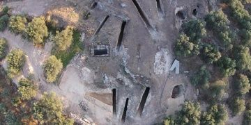 Mycenaean tomb discovered in Nemea Ancient City