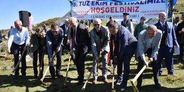 Giresun Tuz Ekim Festivali 500 yıllık şehir efsanesini yaşatıyor
