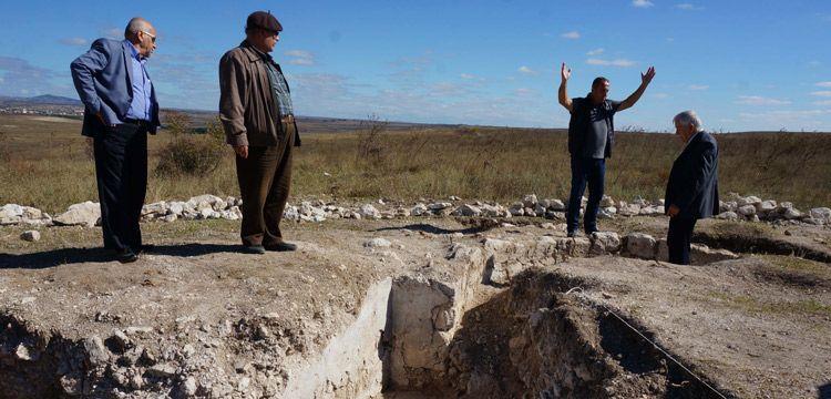 Arkeologlar Edirne'de erken Bizans dönemi kilise kalıntısı buldu