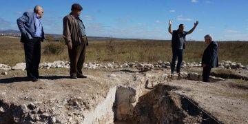 Arkeologlar Edirnede erken Bizans dönemi kilise kalıntısı buldu