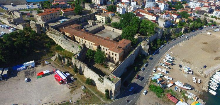 Tarihi Sinop Cezaevi'nin restorasyonunda ikinci aşamaya gelindi