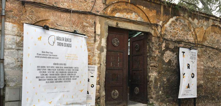 Düşler Ülkesi: Troya sergisi sanatseverleri ağırlamayı sürdürüyor