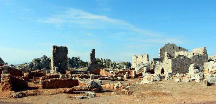 Defineci talanından arkeoparka Lyrboton Kome Antik Kenti'nin öyküsü
