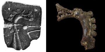 Vikinglerin ejderha motifli kalıpla ne döktüğü 130 yıl sonra anlaşıldı