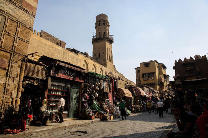 Kahire'nin El-Muiz Caddesi Osmanlı tarihini yaşatan müze gibi