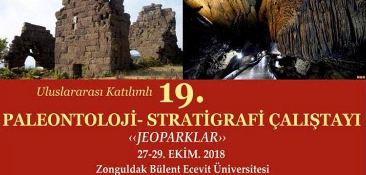 Stratigrafi-Paleontoloji çalıştayı 'Jeoparklar' temasıyla yapılacak