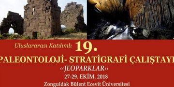 Stratigrafi-Paleontoloji çalıştayı Jeoparklar temasıyla yapılacak