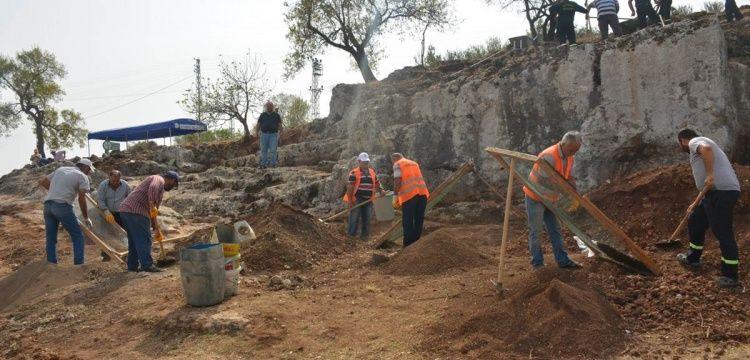Altınözü'ndeki Roma mezarlığında arkeoloji kazıları başladı