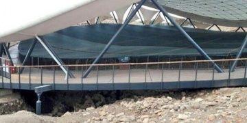 Göbeklitepenin üst çatısı değiştiriliyor, ziyaretler kısıtlandı