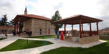 Merzifondaki 753 yıllık Ulu Caminin restorasyonu bitti