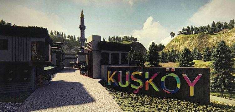 Kuşköy için hazırlanan proje Avrupa'da ödül kazandı