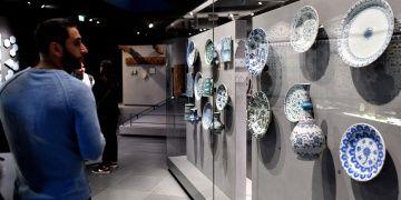 Louvre Müzesinin İslam Sanat Eserleri Bölümü
