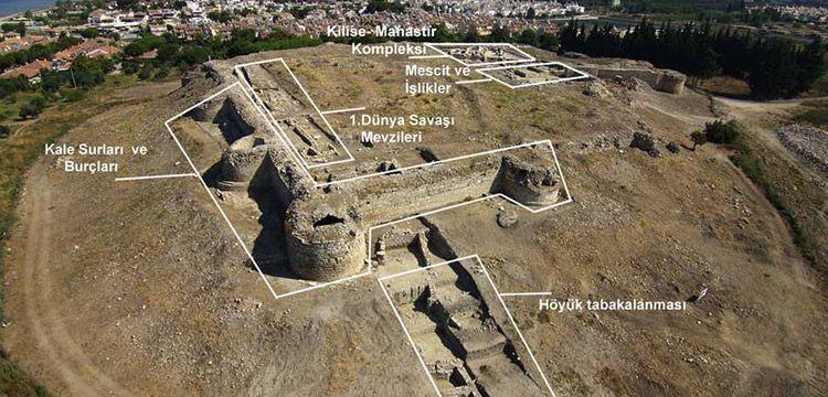 Kuşadası'nda hayata geçirilecek Anaia Liman Kalesi Projesi tanıtıldı