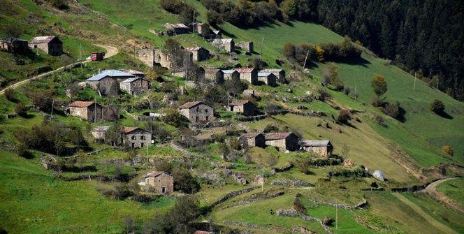 Gümüşhanenin cennet vadilerinde bir antik kent: Santa Harabeleri