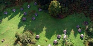 Trabzonda Anabasis yoluna kurulan Oğuz Otağı turistleri doğaya çağırıyor