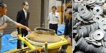 Biggest hauls of medieval coins ever discovered in Japan