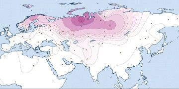There are common genes in different peoples of the Ural language family