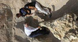Kayserideki Emmiler arkeoloji kazısında 7,4 milyon yıllık fil fosili bulundu