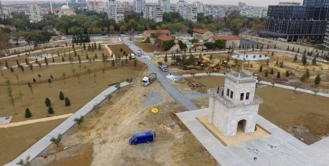 Bakırköydeki Baruthane Millet Bahçesi kasım ayında açılacak