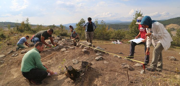 Kastamonu'da Karadeniz bölgesinin ilk taş atölyesi keşfedildi