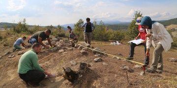 Kastamonuda Karadeniz bölgesinin ilk taş atölyesi keşfedildi