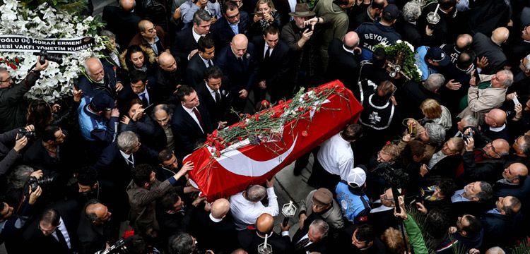 Usta Sanatçı Ara Güler, Şişli Ermeni Mezarlığı'na defnedildi