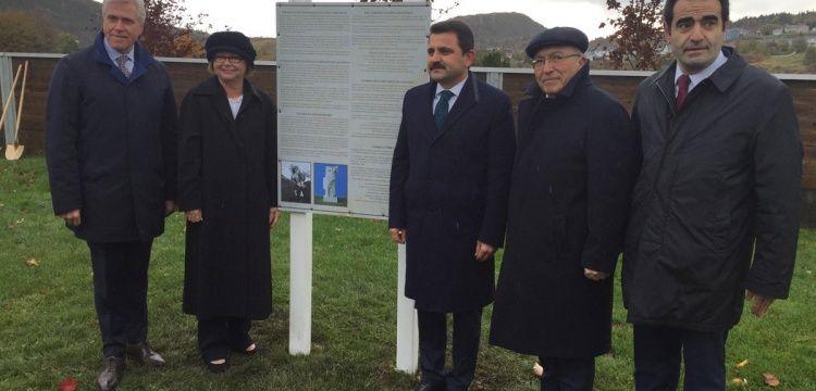 Kanada'ya yapılacak Çanakkale Şehitler Anıtı'nın temeli atıldı