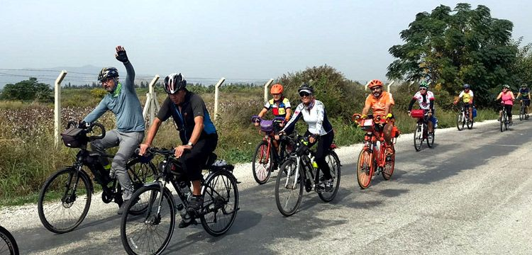 İkinci Karia Bisiklet Turu Ekincik Koyu-Köyceğiz etabıyla tamamlandı