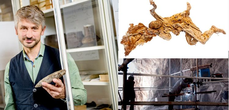 Mummies buried in salt for centuries