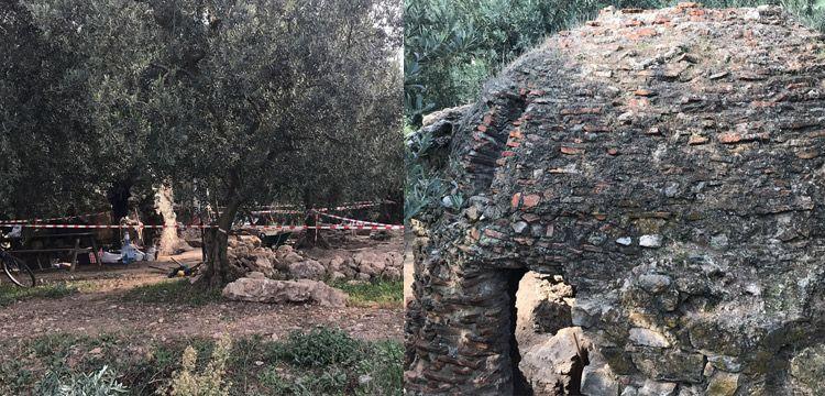 İznik'te bir zeytinlikte Orhan Gazi'nin yaptırdığı hamam bulundu