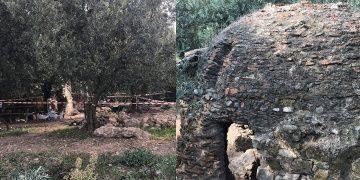 İznikte bir zeytinlikte Orhan Gazinin yaptırdığı hamam bulundu