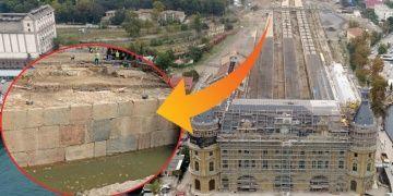 Haydarpaşada arkeologlar sur duvarı mı buldu mendirek mi?