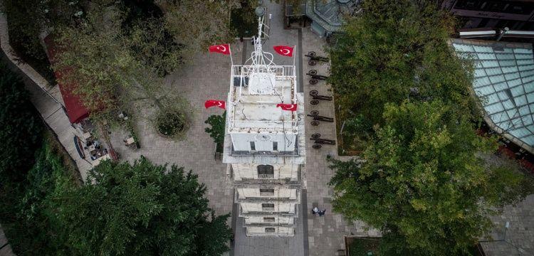 Bursa Saat Kulesi 2019'da yeniden restore edilecek