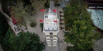 Bursa Saat Kulesi 2019da yeniden restore edilecek