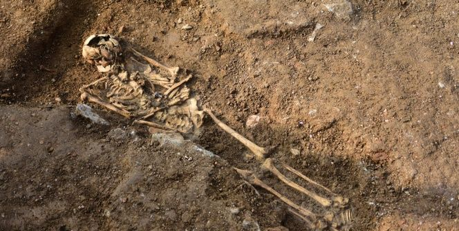 Haydarpaşa arkeoloji kazılarında iskelet bulundu