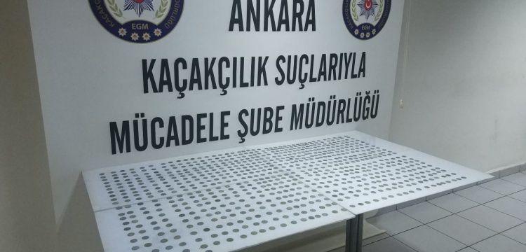 Muğla'da görevli imam Ankara'da 775 sikke ile yakalandı