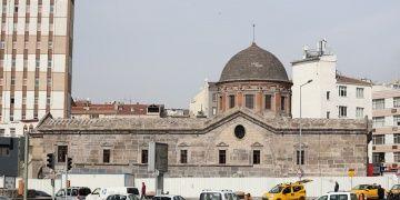 Kayserideki tarihi Meryem Ana Kilisesi restore edildi