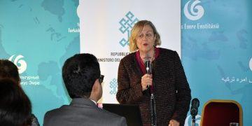 Prof. Dr. Stefania Mazzoni Romada Uşaklı Höyük kazılarını anlattı