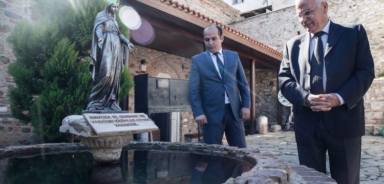 Şirince'deki kilisede dilek paraları tartışılan havuz kamulaştırıldı