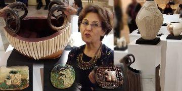 Firdevs Keskin Sezenin Büyük Göç Seramik Sergisi İzmirde açıldı