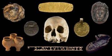 Arkeologların bulduğu altın objenin ağız plakası olduğu anlaşıldı