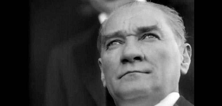 Bakan Ersoy'un Cumhuriyet Bayramı mesajı ve Ata'nın restore edilen görüntüleri
