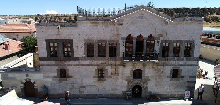 Nevşehir'deki Uzun Ali Konağı turizme kazandırıldı