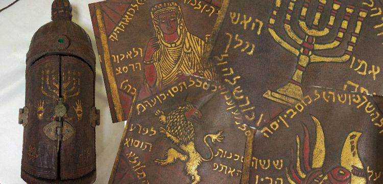 Balıkesir'de İbranice altın yaldızlı Tevrat yakalandı